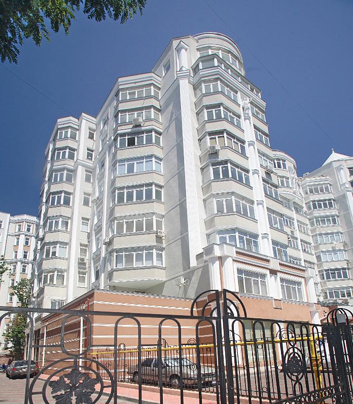 Дома Каркашадзе на ул. Довженко