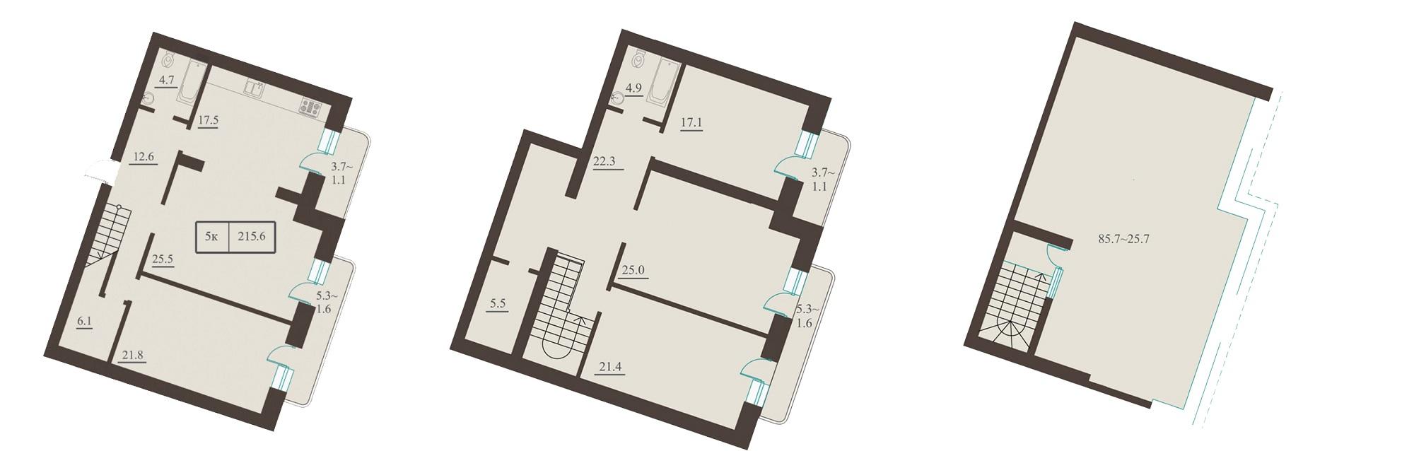 Дома Каркашадзе - Французский бульвар, 2