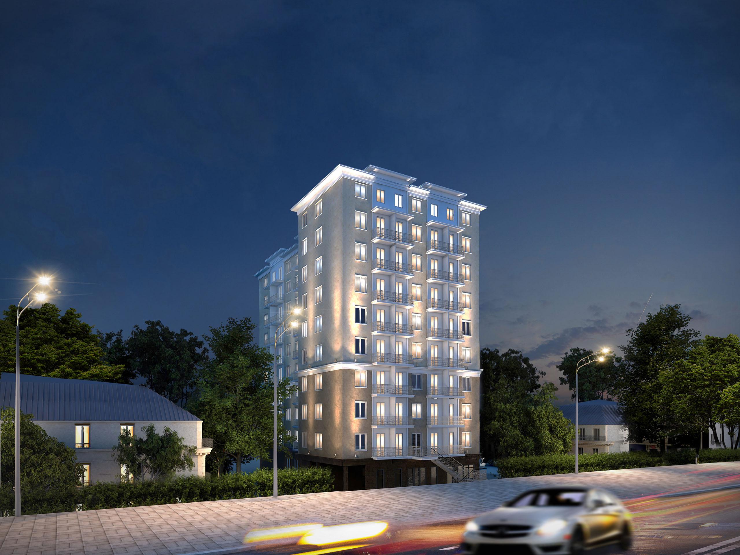 Клубный дом №7 на Балковской