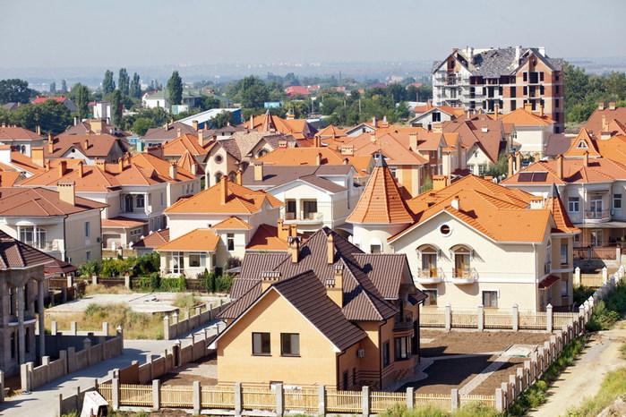 Коттеджный городок Зеленый мыс Крыжановка