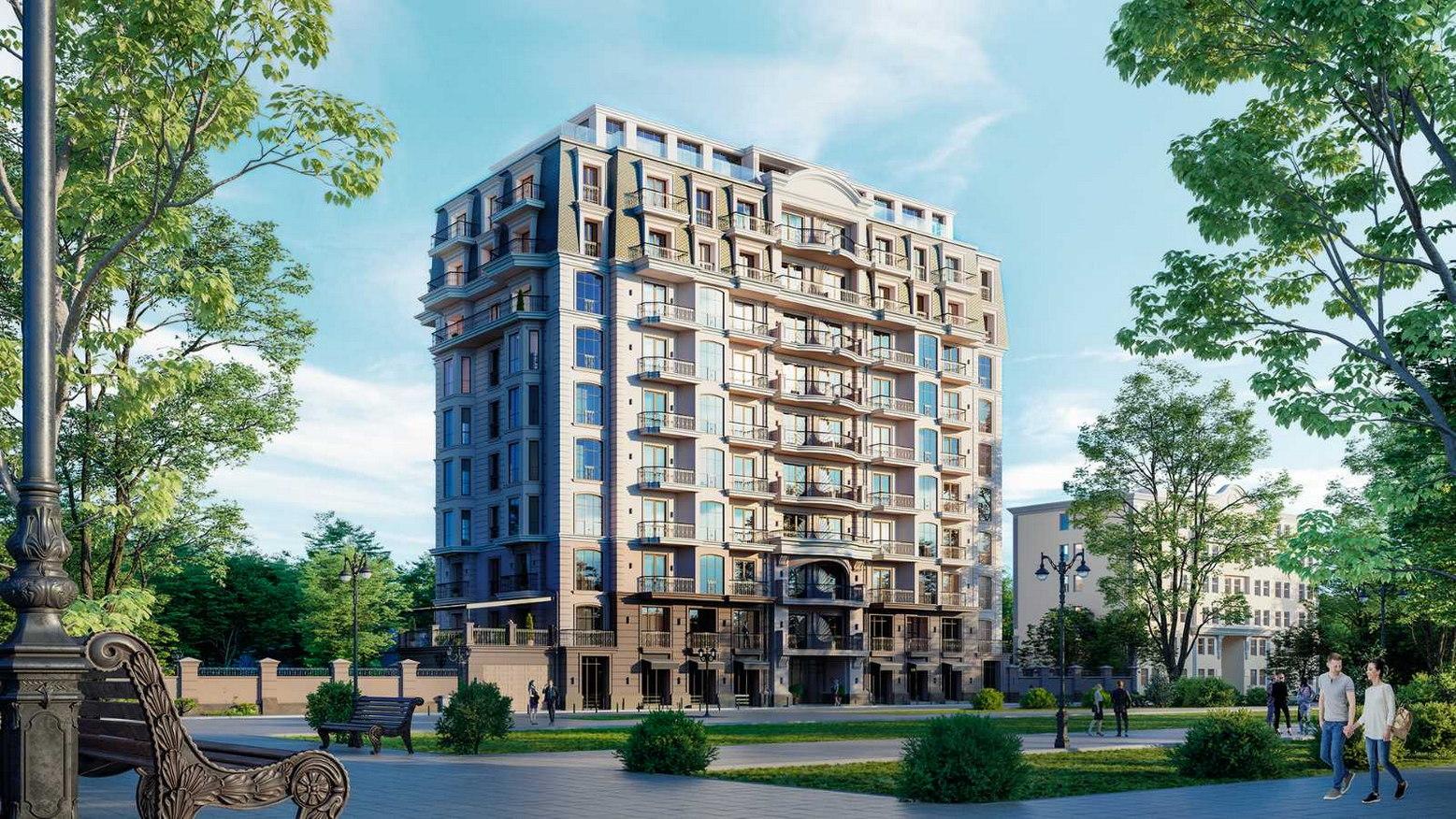 Дом Каркашадзе , 29б