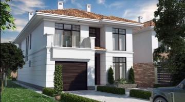 Дом с просторными террасами и панорамным остеклением в Совиньоне!