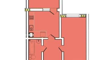 Продам 1 комнатную квартиру в ЖК Радужный