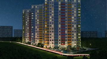 Продажа смарт квартиры в Акварель-1 дом 3