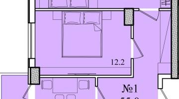 Продается 2-х комнатная квартира на Королева/Глушко